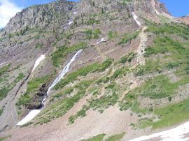 At the base of Cascade Mountain