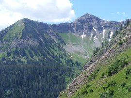 Schuykill Mountain above Baxter Basin