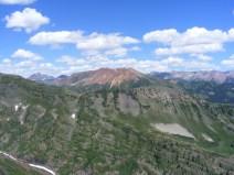 The Elk Mountains, seen from Cascade Mountain
