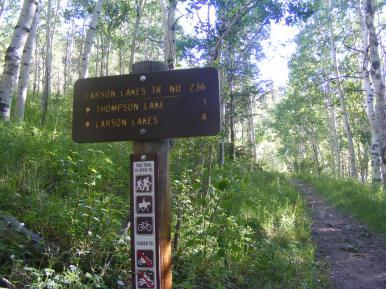 Larson Lakes Trail No. 236