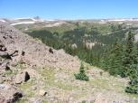 The headwaters of Independence Pass