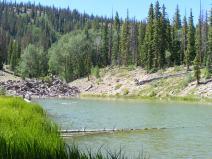 Hay Lake, a small gem near the Crystal Lake Trail