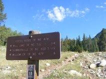 At the Gold Creek Trailhead