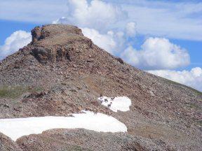 Alpine elk, below Square Top Mountain in the Fossil Ridge WIlderness