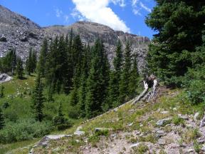 July in the Colorado Rockies