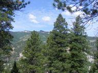 On the Waterdog Trail, looking over towards Crystal Peak