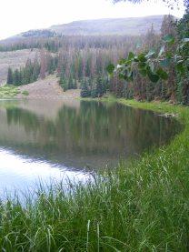 Waterdog Lake, Mesa Seco beyond