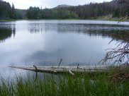Why I love hiking in the Rocky Mountains, here at Waterdog Lake above Lake City, Colorado