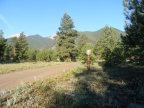 Hiking along Road 274