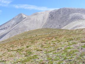 Mount Antero above the Brown's Creek-Baldwin Gulch Divide