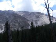 Northern slope of Jone's Peak above Brown's Creek