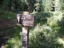 The Texas Creek Trail No. 416