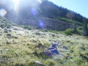 Meadow with talus beyond, Waterloo Gulch