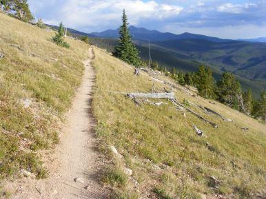 A fine view along the Crest Trail No. 531