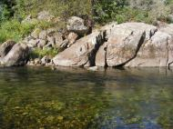 Deep and clear, South Fork White River