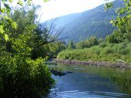 South Fork White River near the South Fork Trailhead