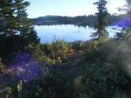 Twin Lakes in the morning sun