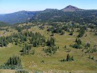 Looking north of Big Marvine Peak