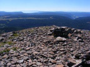 South of Big Marvine Peak