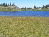 Small pond on The Flat Tops near East Marvine Creek