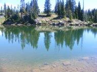 The Flat Tops Wilderness, near East Marvine Creek