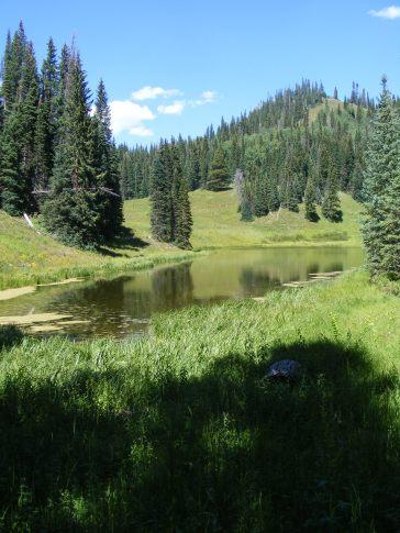 Rainbow Lake on East Marvine Creek