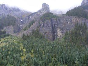 Rampart in the northern San Juan Mountains