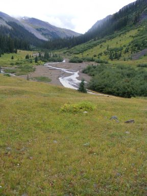The East Fork Cimarron River in the Uncompahgre Wilderness