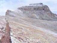 Uncompahgre Peak Trail No. 239, Leah up ahead