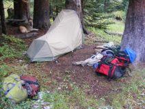 Camp under Matterhorn Peak
