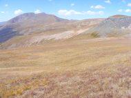 The alpine highlands of Bellow Creek's basin