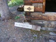 Signage at the Wheeler Geologic Area at the shelter house