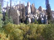 """Some of the """"beehive'"""" formations at Wheeler Geologic Area"""