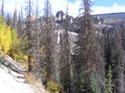 Hiking along the loop trail at Wheeler Geologic Area