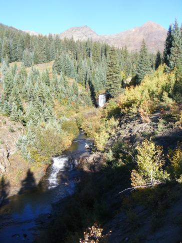 Cascades, lower Poverty Gulch