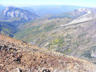 The Anthracite Creek drainage, in the Raggeds Wilderness