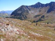 Schuylkill Mountain above Baxter Basin
