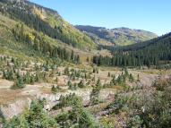 Just above Poverty Gulch, looking down towards the Slate River