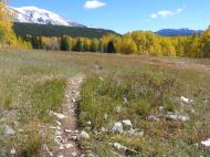 Some of the fine views on the Carbon Trail No. 436 in the Gunnison National Forest