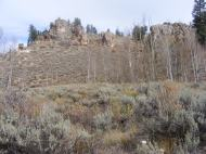 Some of my favorite landmark rocks on Willow Creek tributary to Quartz Creek
