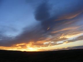Dusk in Moffat County, Colorado