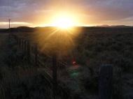 Sunrise over the Sierra Madre