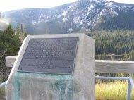The Thomas A. Edison monument on Wyoming 70