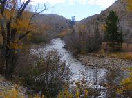 The Encampment River, south of Encampment, Wyoming