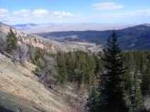 Torrey Creek and the prairie beyond