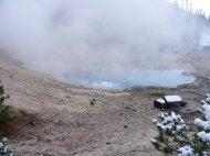 Beryl Springs, Yellowstone National Park, Wyoming