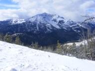 Electric Peak, seen from Sepulcher Mountain