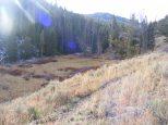 The Sportsman Lake Trail above Glen Creek