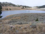 The large pond on Mount Everts