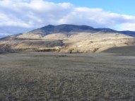 Near the Rescue Creek Trailhead, looking north towards Sheep Mountain and Eagle Creek